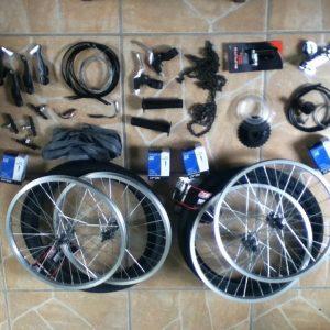 4 wheel cycle parts